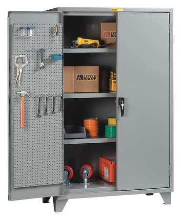 Pegboard Cabinet, Pegboard Door, 60Wx24inD