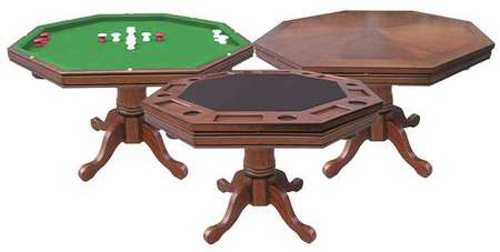 Superbe 3:1 Game Table, Walnut, Solid Hardwood, Grn