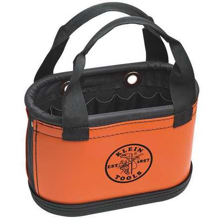 "14"" Tool Storage Bucket,  w/Handles,  Orange"