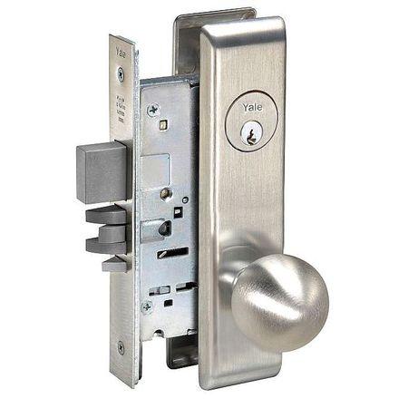 Yale Knob Lockset Mechanical Privacy Grd 1 8831 Co Cn