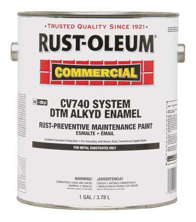 Rust oleum alkyd enamel paint white 1 gal 282729 for What are alkyd paints