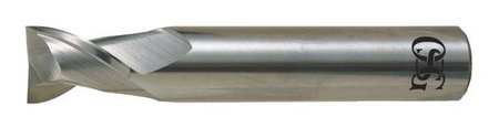Carbide End Mill,1//2 in dia.,1//2 in Cut OSG 415-5000