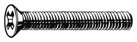 "#4-40 x 1/2"" Flat Head Phillips Machine Screw,  100 pk."