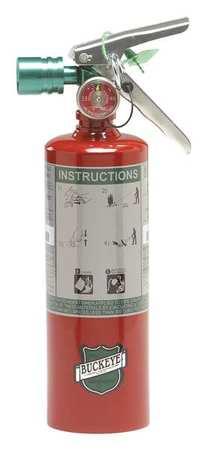 Fire Extinguisher,  2B:C,  2.5lb.,  Clean Agent