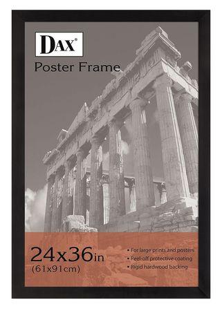 Dax Poster Frame Black 36x24 In Dax2863u2x Zorocom
