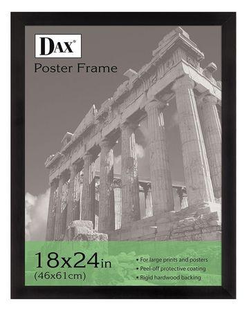 Dax Poster Frame Black 24x18 In Dax2863w2x Zorocom