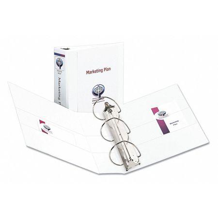 avery 4 durable binder white 11 x 8 5 ave09801 zoro com