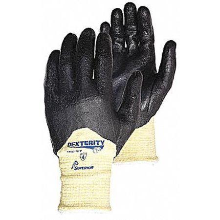 35ZA16 Cut Resistant Glove 3/4Foam Nitrile, 9, PR