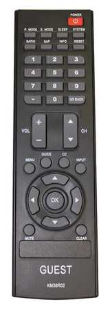 Guest remote for RCA LED series HDTV
