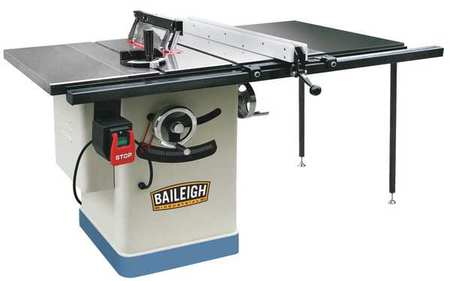 Cabinet Table Saw, 2 HP, 12A, 38 In. W