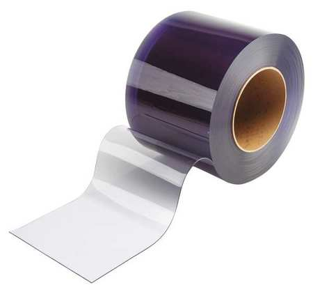 Flexible Bulk Rolls, Smooth, 8in, Clear, PVC