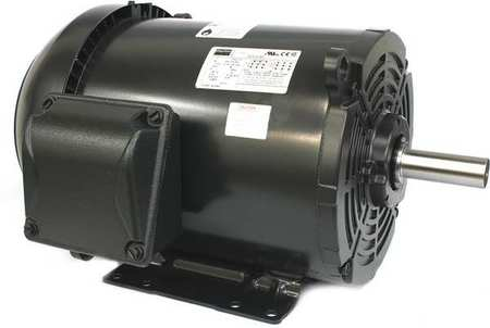 Mtr, 3 Ph, 3 HP, 1170, 208-230/460V, Eff 87.5