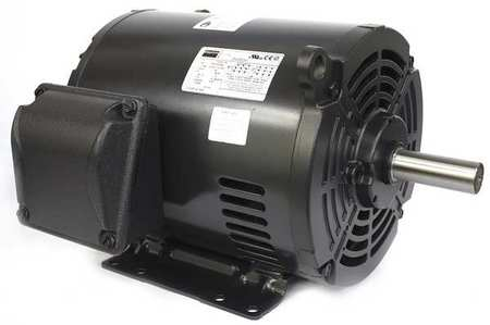 Mtr, 3 Ph, 3 HP, 1740, 208-230/460V, Eff 86.5