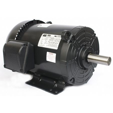 Mtr, 3 Ph, 1.5hp, 1170, 208-230/460, Eff 87.5