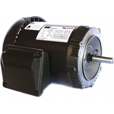 Mtr, 3 Ph, 1/3hp, 1135, 208-230/460, Eff 69.0