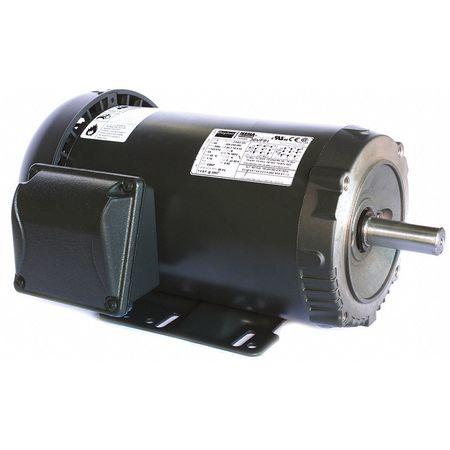 Mtr, 3 Ph, 2 HP, 3505, 208-230/460V, Eff 86.5