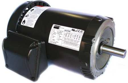 Mtr, 3 Ph, 1 HP, 1140, 208-230/460V, Eff 82.5