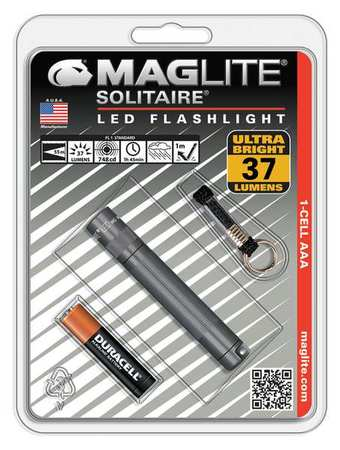 MAGLITE LED 100 Lumens Industrial Black Mini Flashlight MAGLITE SP32016K