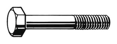 Structural Bolt, 1-8, 3 3/4 L, PK5