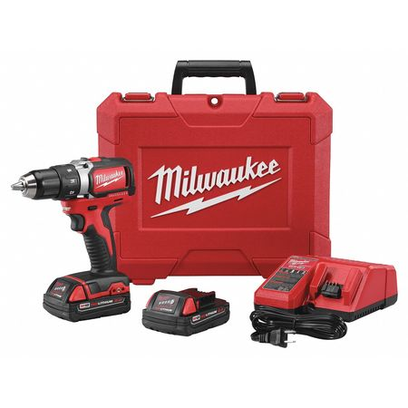 "M18â?¢ Cordless Drill/Driver Kit, 2 Speed, 18V, 1/2"", Battery Included"