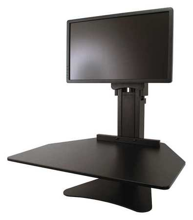 Sit Stand Desk Converter, Includes Steel Base U0026 Desk Surface