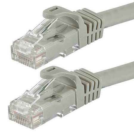 Monoprice Ethernet Cable, Cat 6, Gray, 10 ft. 9809 | Zoro.com