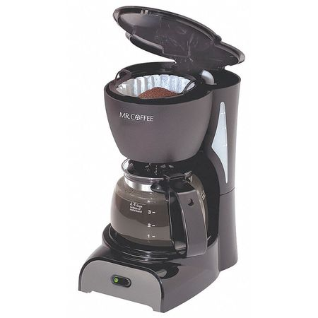 Mr. Coffee Switch Coffee Maker, 4 Cup, Plastic DR5-NP Zoro.com