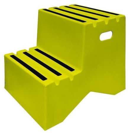 Dpi 2 Steps Plastic Step Stand 500 Lb Load Capacity
