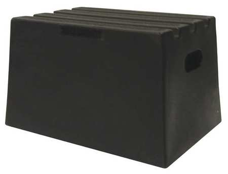 Dpi Step Stand 1 Step Polyethylene Black St18 01 Zoro Com
