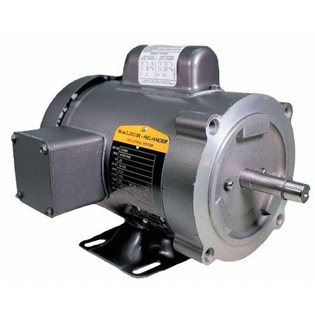 Baldor Electric Motor 1 4 Hp 1725 Rpm 115 230v 56c Tefc Cl3403 Zoro