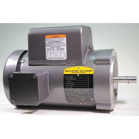 Baldor Electric Ac Motors 3 4 Hp 1725 Rpm 115 230v 56c Tefc Vl3507 Zoro
