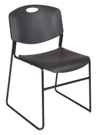 Link To Product Stack Chair,400 Lb.,Black,No Arms,PK4