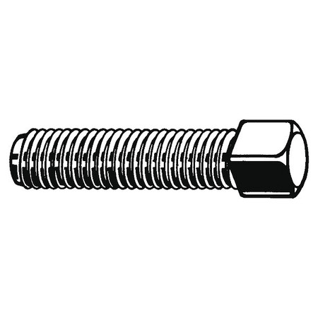 Socket Set Screw, Cup, 3/8-16x3/4, PK100
