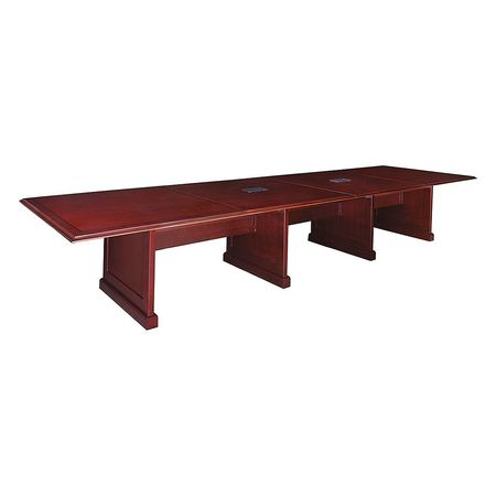 Regency Rectangular Conference Table W X L X H Mahogany - 30 conference table