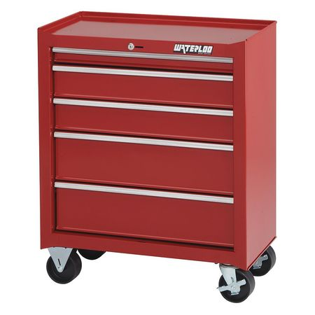 Link To Product Rolling Cabinet, 26 In.Wx14 In.Dx32 In.H
