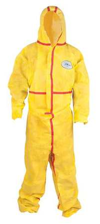 Hooded Chemsplash 1(R), Elastic, M, PK6