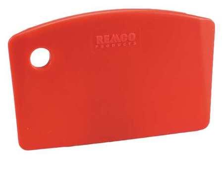 Mini Bench Scraper, 5-1/2 x 3-1/2 in, Red