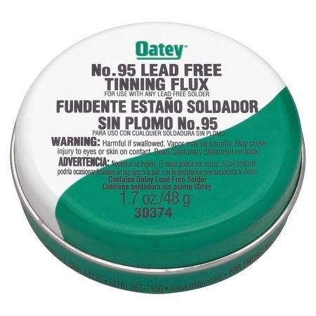 39AN78 Lead Free Flux, Paste, Lead Free, 1.7 oz.