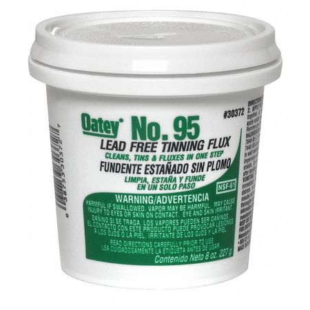 39AP01 Lead Free Flux, Paste, Lead Free, 8 oz.