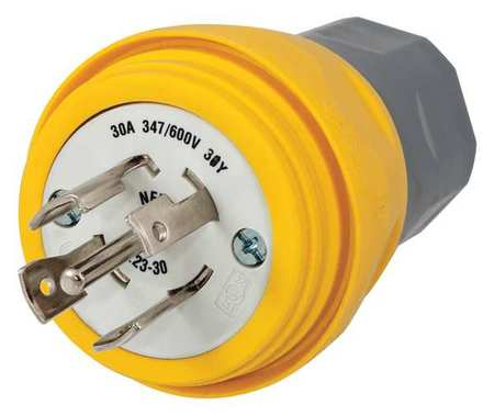 Brilliant Hubbell Wiring Device Kellems 30A Watertight Locking Plug 4P 5W 347 Wiring Cloud Venetioscosaoduqqnet