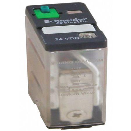 SCHNEIDER ELECTRIC 781XAXRM4L-120A Plug In Relay,5 Pins,Square,120VAC