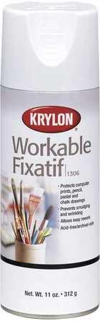 Workable Fixative Spray, Clear, 11 oz.