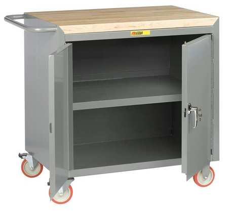 Mobile Workbench Cabinet, 1200 lb., ...