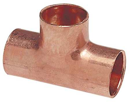 "3/4"" x 3/4"" x 1"" NOM C Copper Reducing Tee"