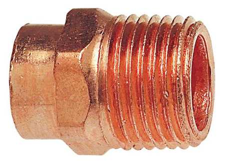 Wrot Copper Pipe Adapters - C x MNPT