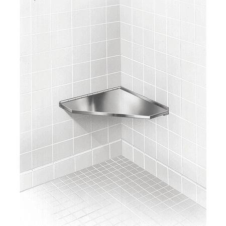 Stainless Steel Corner Shower Seat