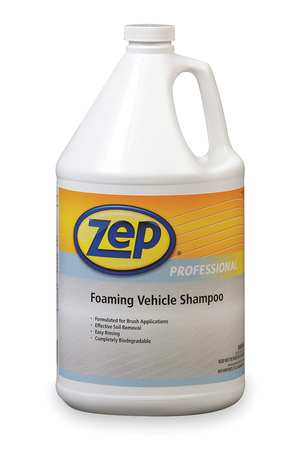 Foaming Vehicle Shampoo, 1 Gallon, Bottle