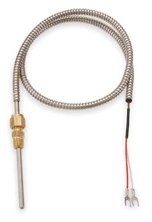 Thermocouple, Type J, Lead 48 In