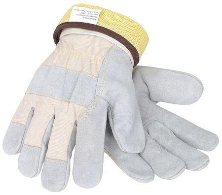 Cut Resistant Gloves, Gray, S, PR