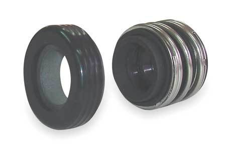 Shaft Seal,  5/8 In, Viton, Silicon Carbide